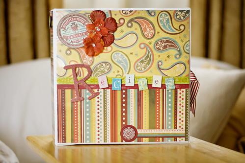Homemade Book Cover Ideas : Handmade cookbook idea carolyn beth