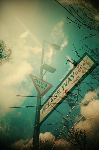 Give Way. No Way. Yield.