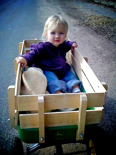 first time in a wagon
