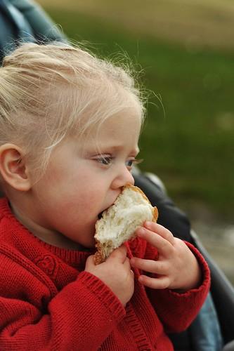 x ciera eating birdbread