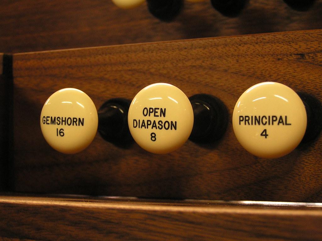 Stops, Austin Organs