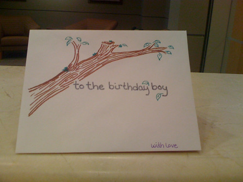 Birthday Card Envelope
