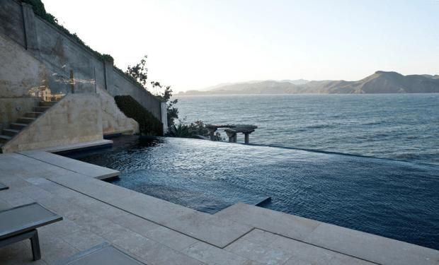 sea cliff home