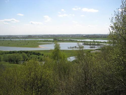 View of hiking area De Blauwe Kamer