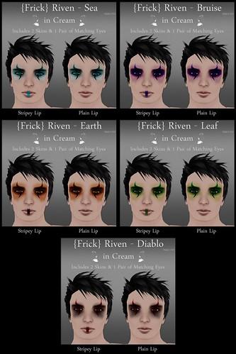 Frick - Riven - Cream - All