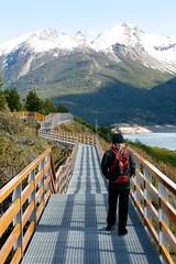 Walk along the Glacier