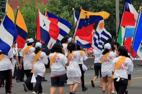PUERTO RICAN AND HISPANIC DAY PARADE 2010 / BRENTWOOD, LI, NEW YORK
