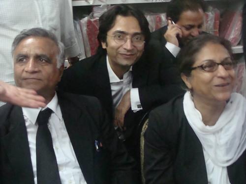 Asad J with the winners