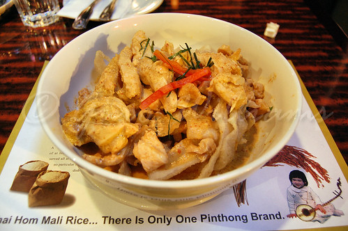 Panang Noodles with Ghai