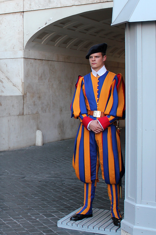 The Vatican's Swiss guard