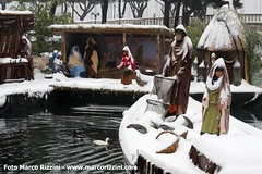 Presepio sull'acqua nel Porto Vecchio di Desenzano gel Garda