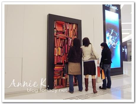 香港K11商場內的裝置藝術