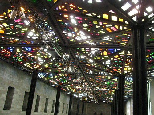 Mosaic Ceiling at the at the National Gallery of Victoria