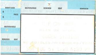 Depeche Mode, Dodger Stadium