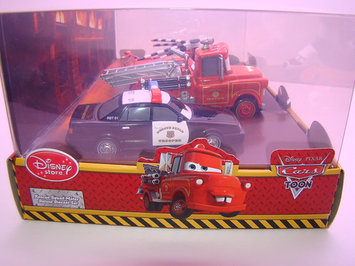 disney store CARS rescue squad mater 4 pc set (7)