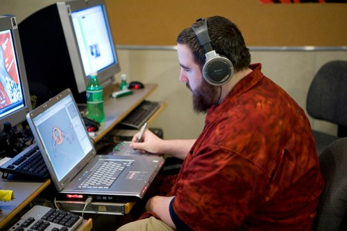 Inside the Game Design campus