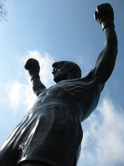 Rocky statue // Philadelphia