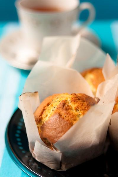 Citrus poppy seed muffins