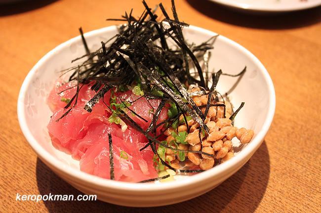 Maguro Natto (Tuna Natto)