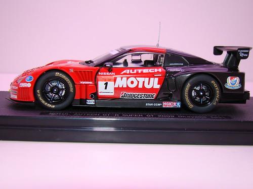 EBBRO MOTUL AUTECH GT-R SUPER GT 2009 OKAYAMA TEST (2)