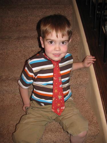 Taylor Christmas Tie