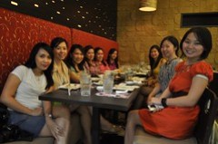 dinner with elianto and beauty bloggers