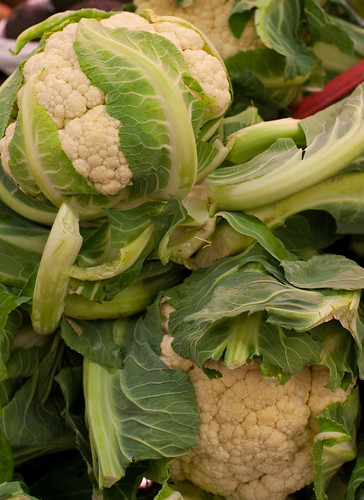 cauliflower closeup