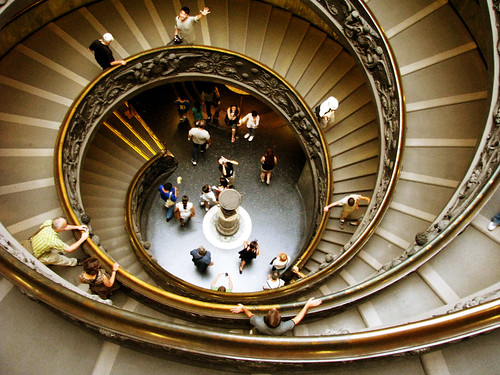 Double Spiral Stairs. Vatican Museum
