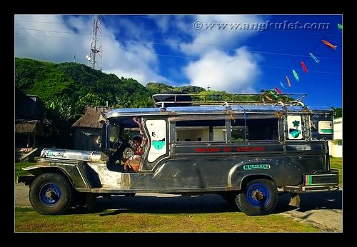 Jeepney, Sinakan, Sabtang Island, Batanes