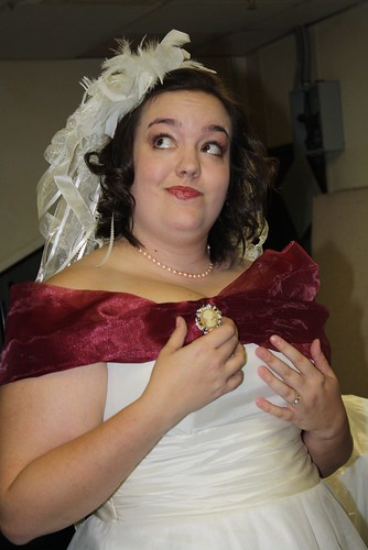 Bride is floofy