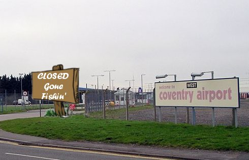 Coventry Airport Shuts Down