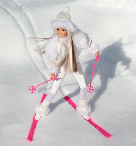 Barbie Hits The Slopes