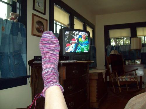 Gypsy Socks WIP