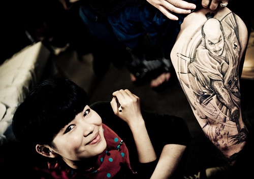 Body Art Expo : Asian Tattoo Artist extraordinaire image by tibchris from