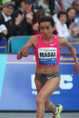 Madaí Perez - Medio Maratón de NY 2010