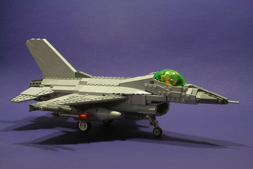 LEGO Military Models  F 16 Fighting Falcon It s easily one of the best models that I ve seen lately  and is all the  more cool to see as the F 16 is my favorite fighter