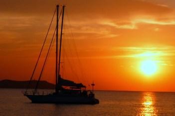 Posta de sol no Mediterráneo by xornalcerto.