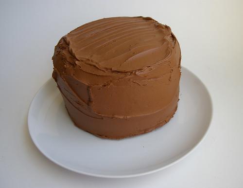 Sky high cake