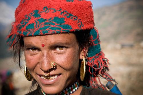 Simikot Woman