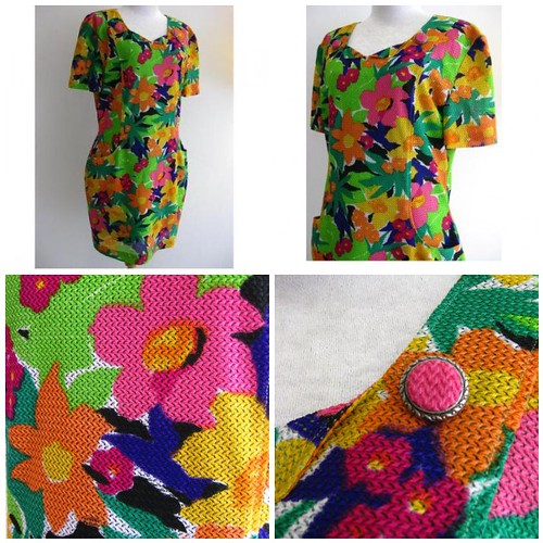 Vintage Dress The Garden