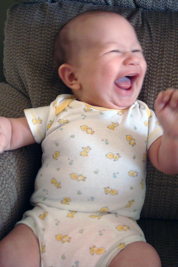laughin'
