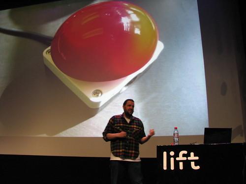 Lift10 Big Red Remote Button