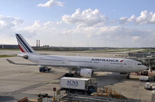 Un Airbus A330 d'Air France
