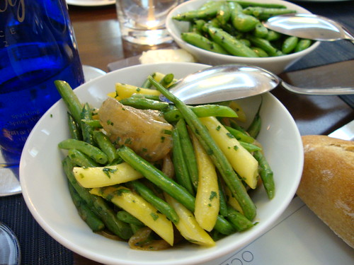 Sautéed Green and Yellow Beans