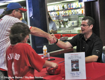 Mitch Williams Book Signing
