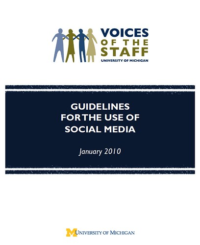 UM: Voices of the Staff: Social Media Guidelines