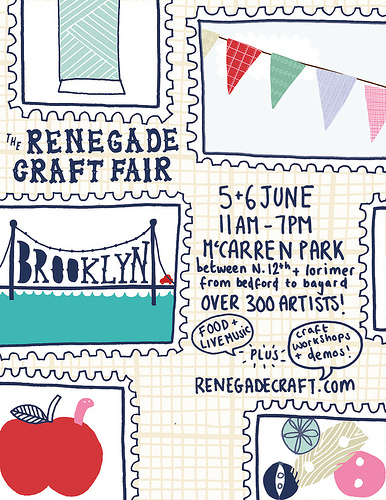 The Renegade Craft Fair in Brooklyn