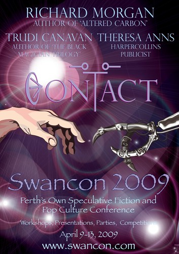 Swancon 2009 poster