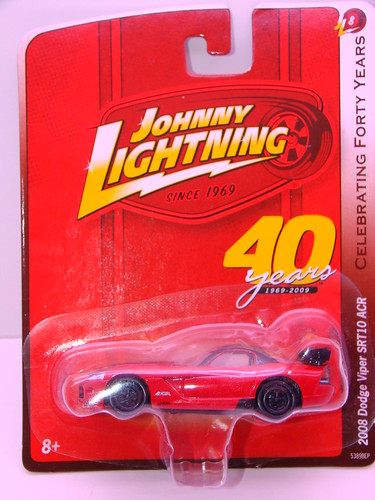 johnny lightning viper srt10 acr red