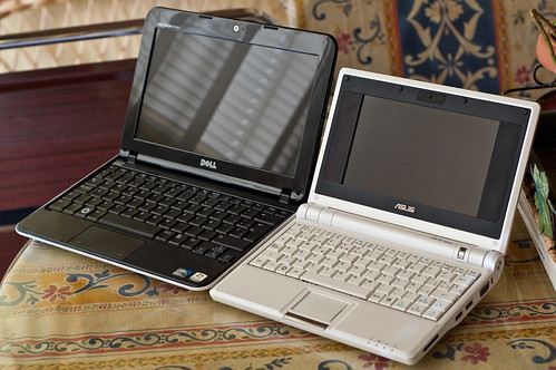 Dell Inspiron Mini 10 vs. Asus EeePC 701